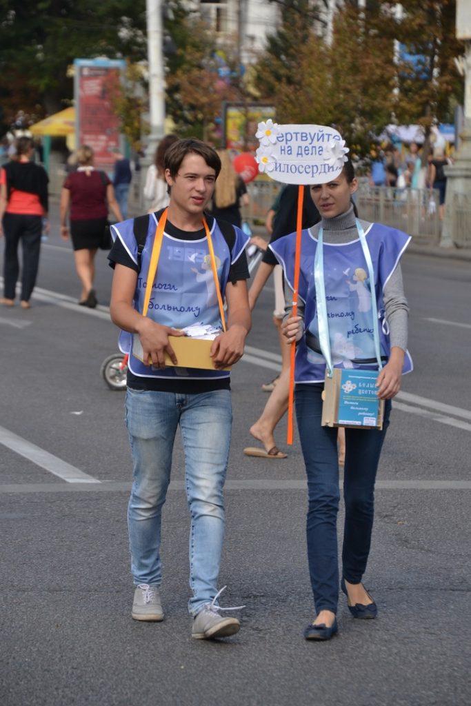волонтёры Даша Вторникова