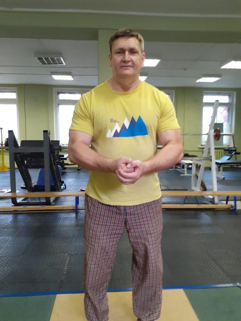 тяжёлая атлетика Красников